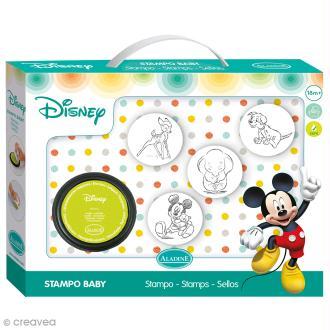 Kit tampon Stampo'baby Disney - Mickey - 4 pcs