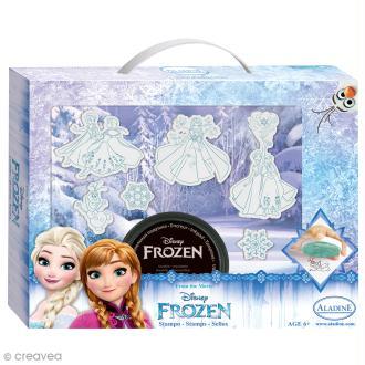 Kit Tampon Disney Enfant - La Reine des Neiges - 6 pcs