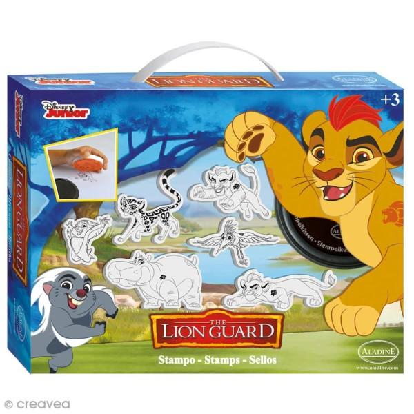 Kit Tampon Disney Enfant - La garde du Roi Lion - 6 pcs - Photo n°1