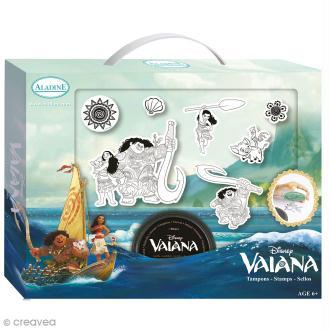 Kit Tampon Disney Enfant - Vaiana - 6 pcs