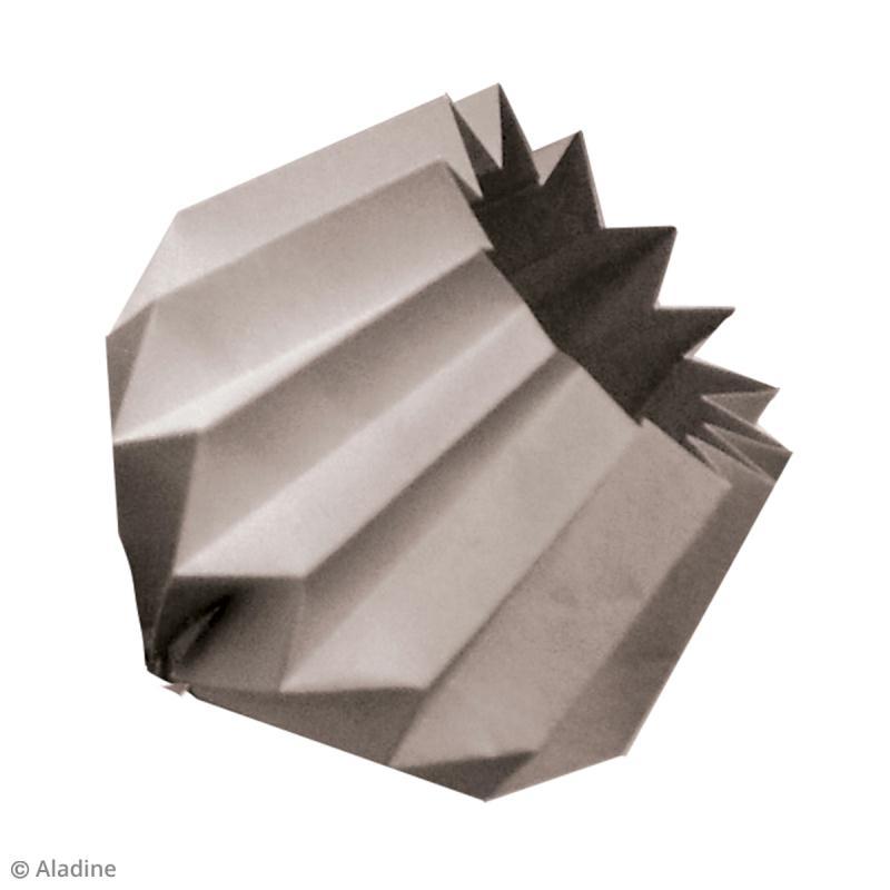 kit origami guirlande lumineuse romantique rose grise jaune kit origami creavea. Black Bedroom Furniture Sets. Home Design Ideas