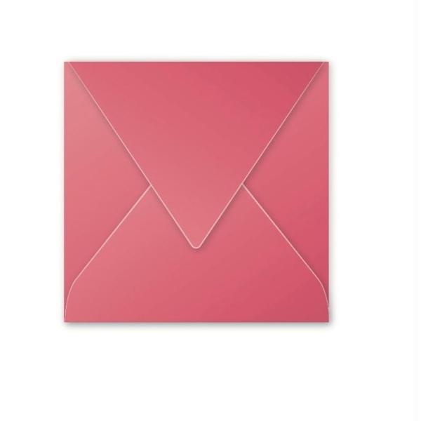 Enveloppe POLLEN Framboise - 165 x 165 - Pack de 20 - Photo n°1