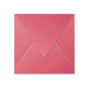 Enveloppe POLLEN Framboise - 165 x 165 - Pack de 20