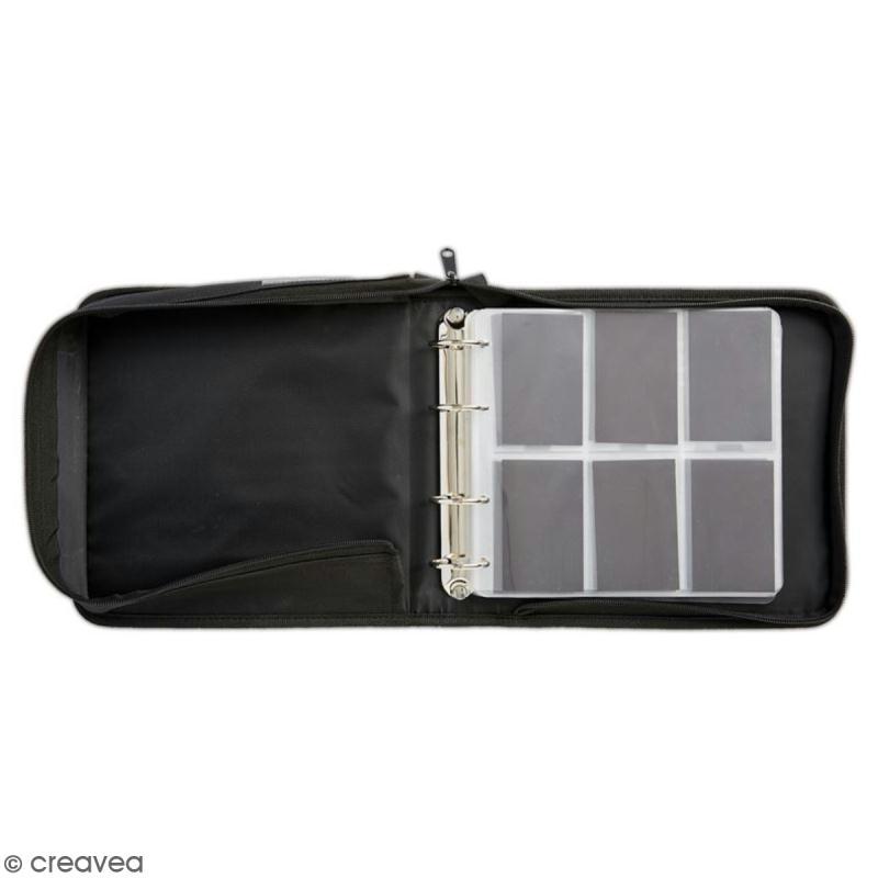 Classeur de rangement Xcut Mini Dies - 24 x 24 cm - 10 pochettes - Photo n°2
