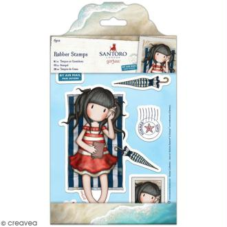Tampon cling Santoro - Summer days - 6 pcs