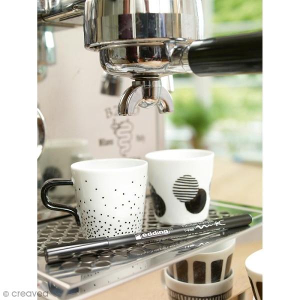 Feutres Porcelaine Edding 4200 - Coloris standards - 6 feutres - Photo n°4