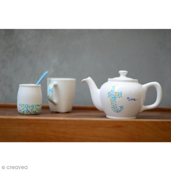 Feutres Porcelaine Edding 4200 - Camaïeu bleu vert - 6 feutres - Photo n°3