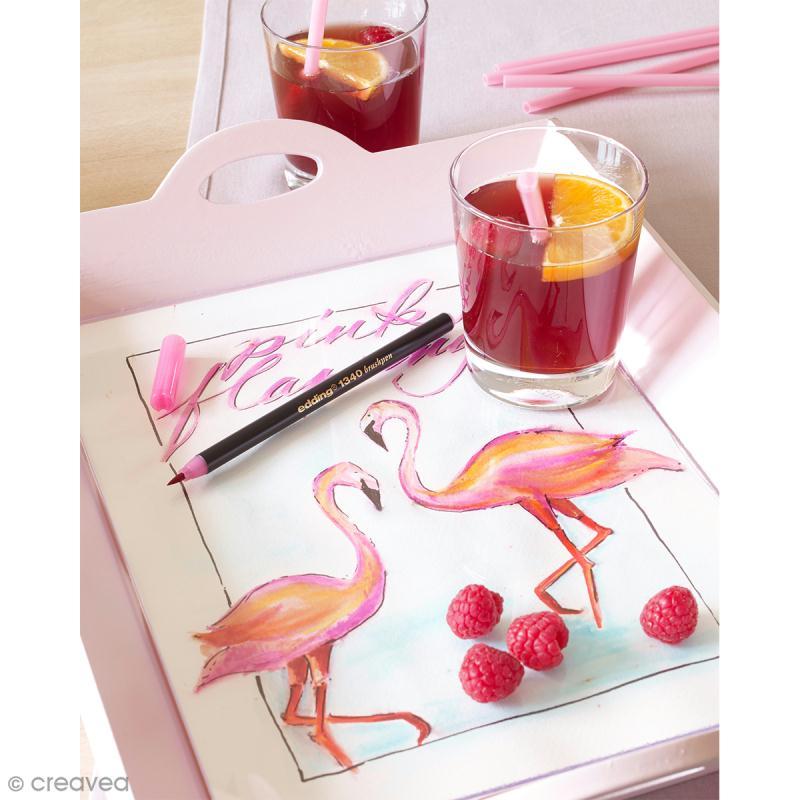 Feutres pinceaux Edding - 10 Brushpens - Photo n°3