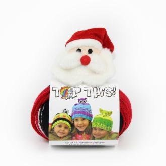 Kit bonnet «Top This» Père Noël - DMC - 1 pelote