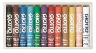 Pastels à l'huile GIOTTO Olio x 12