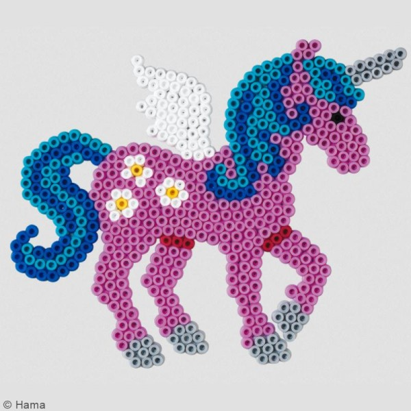 Kit Perles Hama Midi - Licorne - Photo n°2