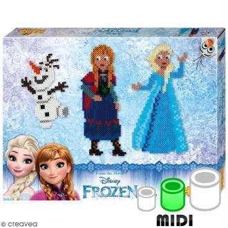 Kit Perles Hama  Midi - La Reine des Neiges