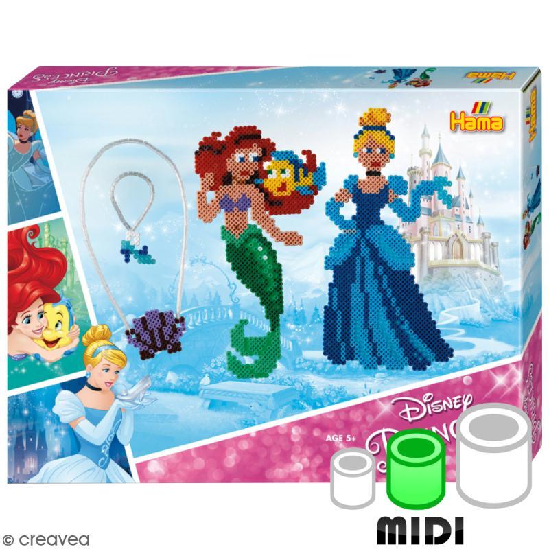 Kit Perles Hama  Midi - Princesse Disney - 4000 perles - Photo n°1