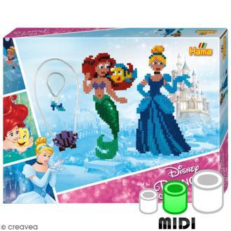 Kit Perles Hama  Midi - Princesse Disney - 4000 perles