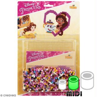 Kit Perles Hama  Midi - Princesse Disney - 1100 perles