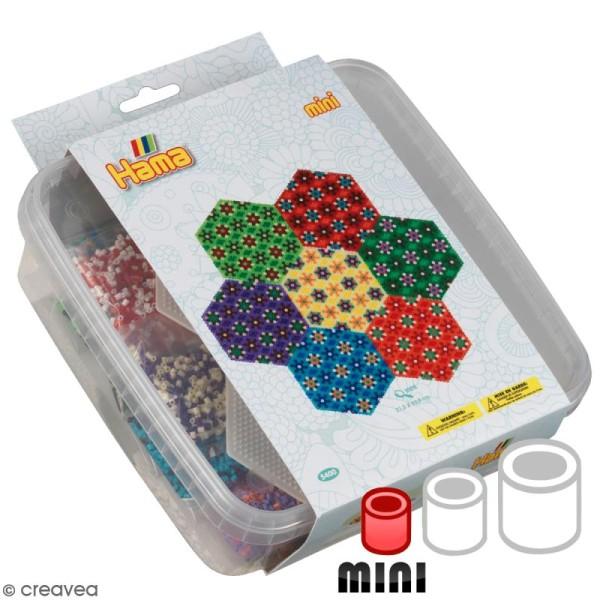 Kit Perles Hama  Mini - Fleur - Photo n°1