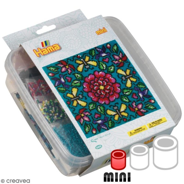 Kit Perles Hama  Mini - Floral - Photo n°1