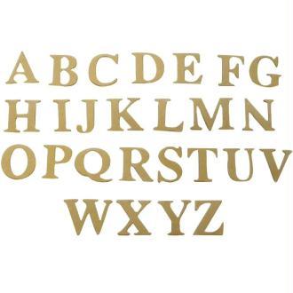 Alphabet en carton x 52