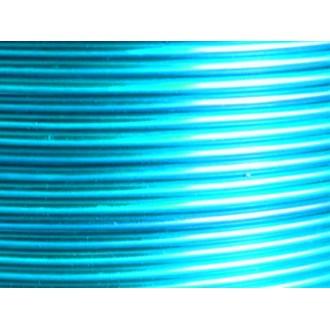 1 Mètre fil aluminium turquoise 2mm Oasis ®