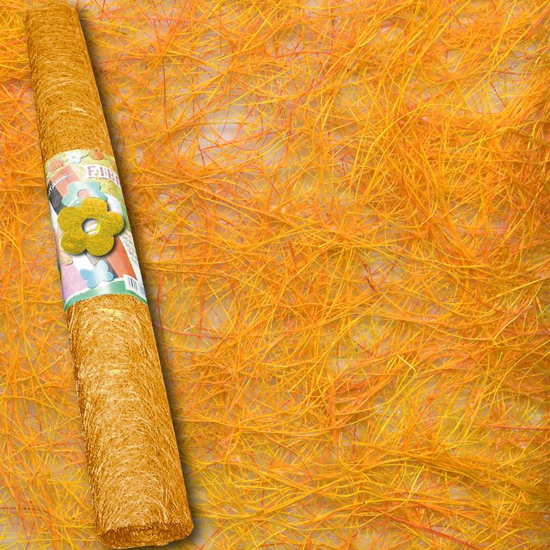 Rouleau sisal orange 100 x 50 cm sisal rouleau creavea for Accessoires cuisine originaux