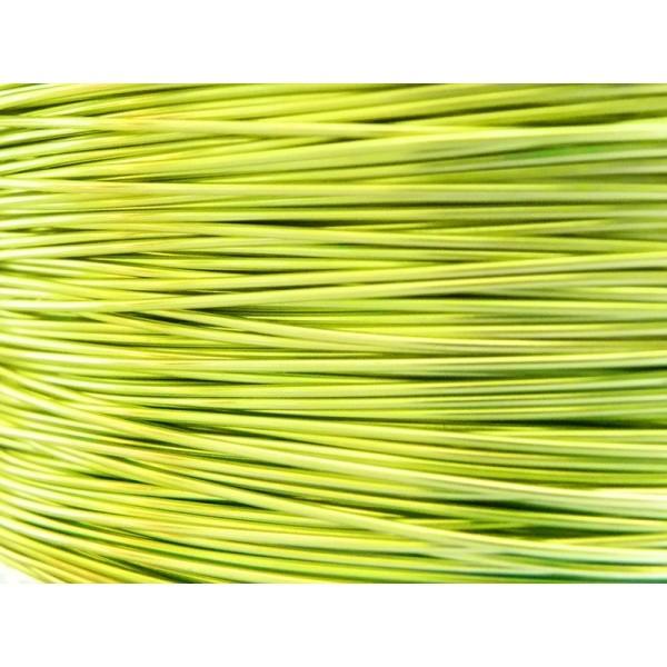 Bobine 115 M fil aluminium vert pomme 1mm Oasis ® - Photo n°1
