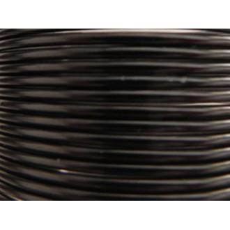 Bobine 60 M fil aluminium noir 2mm Oasis ®