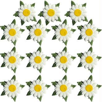 Fleur en papier Marguerite x 15