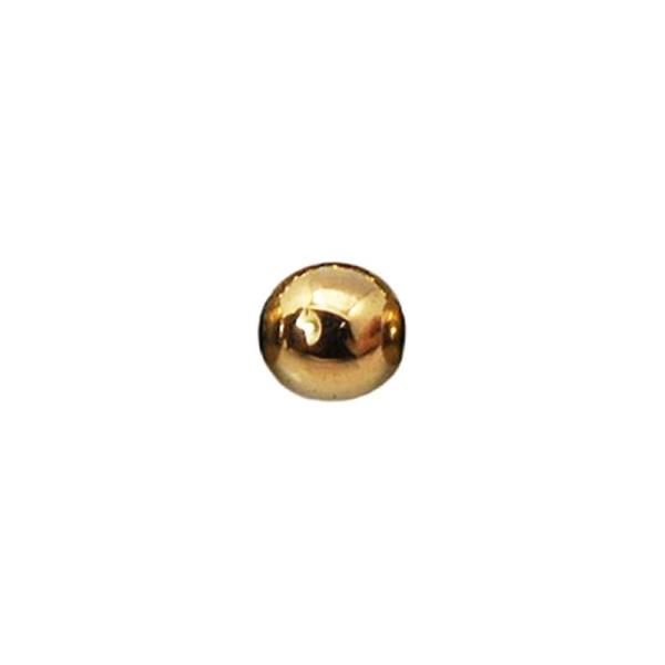 10 x Perle Hématite 4mm - Doré - Photo n°1