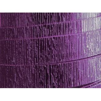 2 Mètres fil aluminium plat strié aubergine 20mm Oasis ®