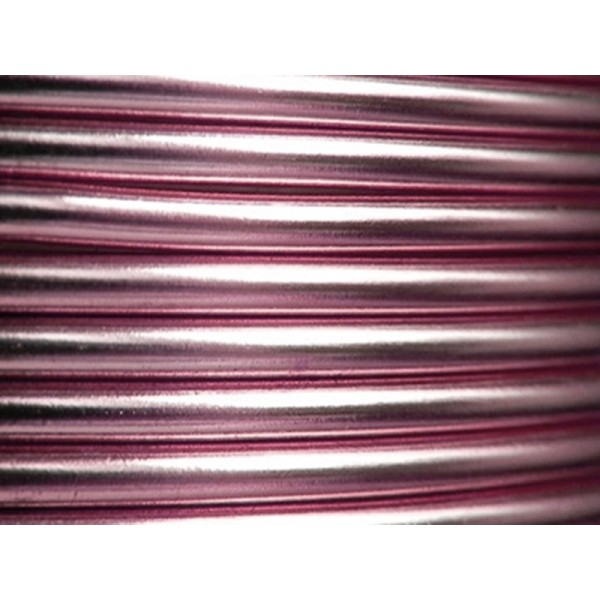 5 Mètres fil aluminium rose clair 4mm Oasis ® - Photo n°1