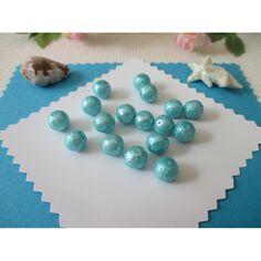 25 à facettes perles de verre 8 MM clair P4-03