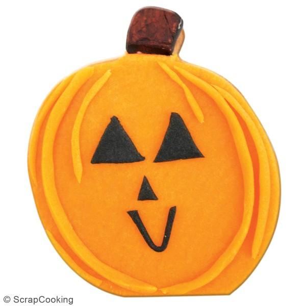 Seau d'emporte-pièces en acier Halloween - 16 pcs - Photo n°3