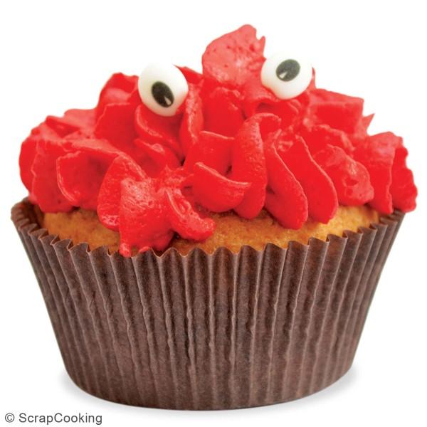 Décoration sucre pour gâteaux - Yeux - 63 pcs - Photo n°6