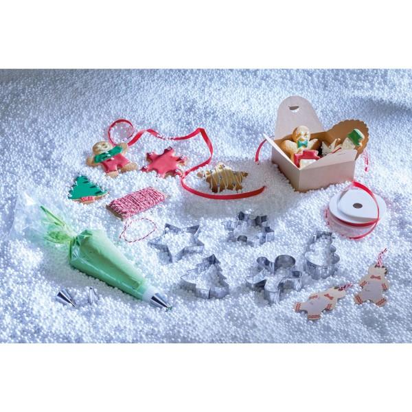 Coffret cadeau biscuits de Noël 39 pièces - Photo n°3