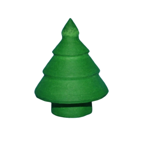 5pcs Vert de l'Arbre de Noël du Coton Filé tchèque Décor à la Maison des Enfants de Style Vintage No - Photo n°1