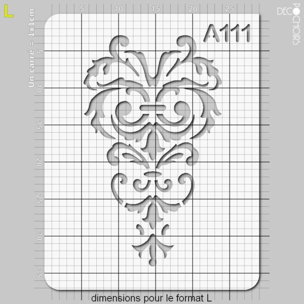 Pochoir motif antique - Photo n°5