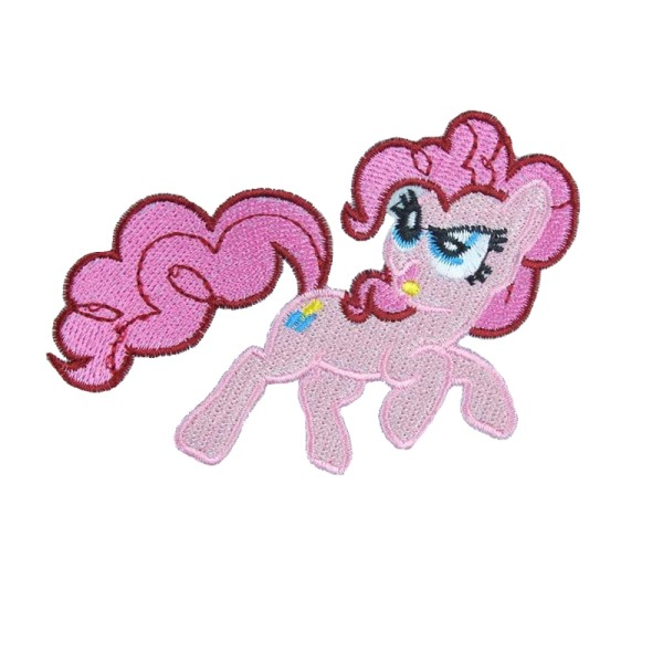Écusson brodé thermocollant My Little Pony Pinkie Pie, mon petit poney - Photo n°2