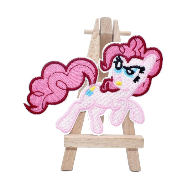 Écusson brodé thermocollant My Little Pony Pinkie Pie, mon petit poney - Photo n°1