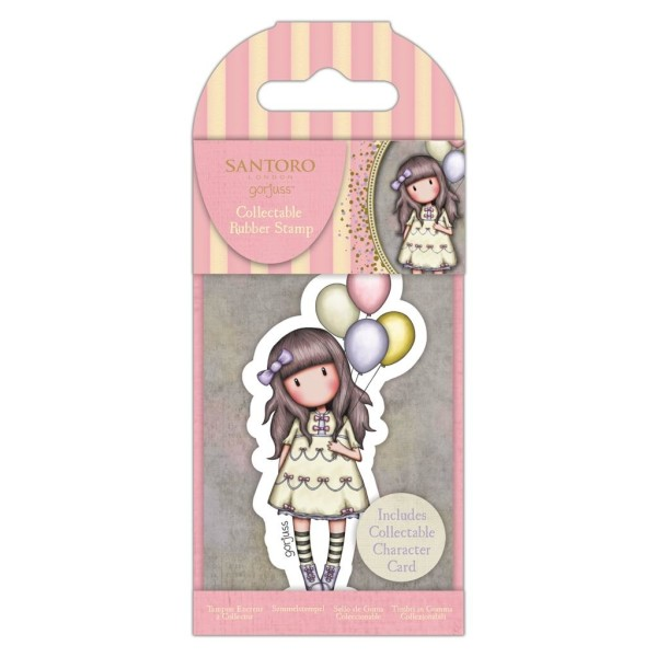 Mini tampon cling Gorjuss  No.73 I Wish… - Photo n°1