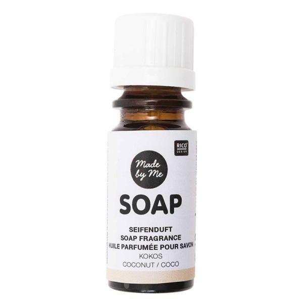 Huile parfumée pour savon à la noix de coco - 10 ml - Photo n°1