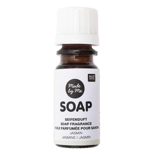 Huile parfumée pour savon au jasmin - 10 ml - Photo n°1
