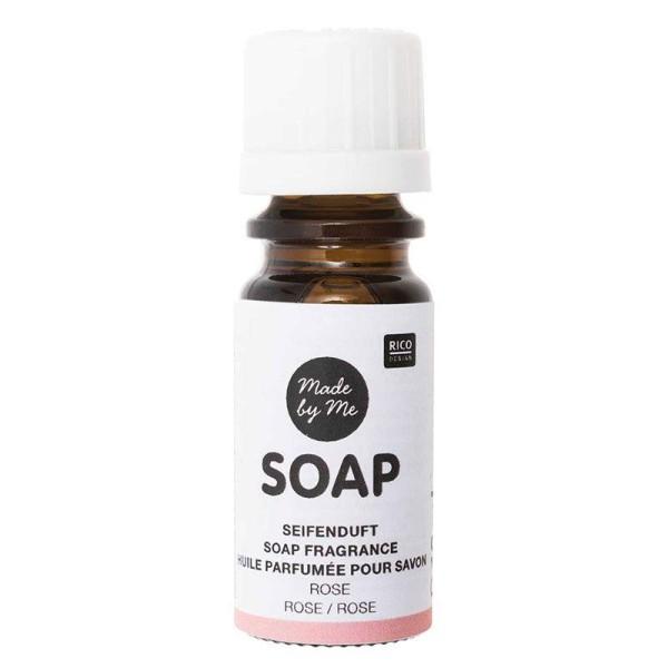 Huile parfumée pour savon à la rose - 10 ml - Photo n°1