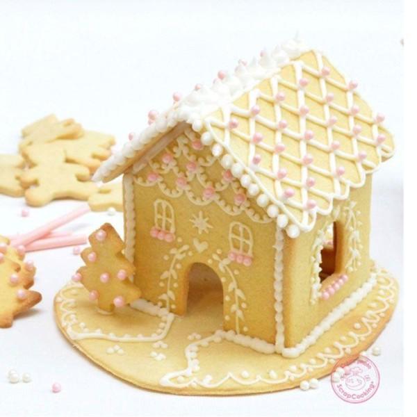 Coffret maison en pain d'épices - découpoirs et préparation biscuits - Photo n°1