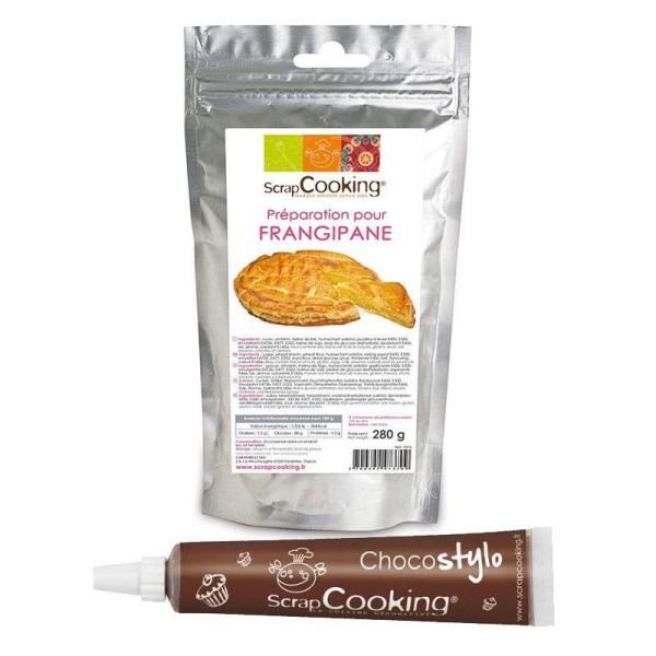 Préparation pour frangipane 280 g + Stylo chocolat - Photo n°1