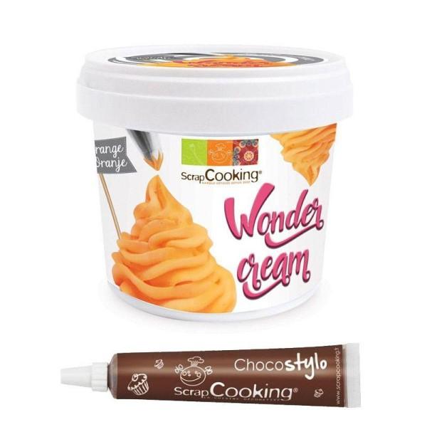 Wonder cream orange 150 g + 1 Stylo chocolat offert - Photo n°1