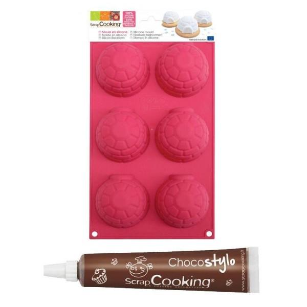Moule à gâteaux igloos + 1 Stylo chocolat offert - Photo n°1
