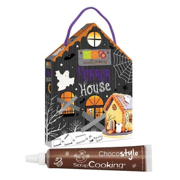 Découpoirs inox Maison de l'Horreur + 1 Stylo chocolat offert - Photo n°1