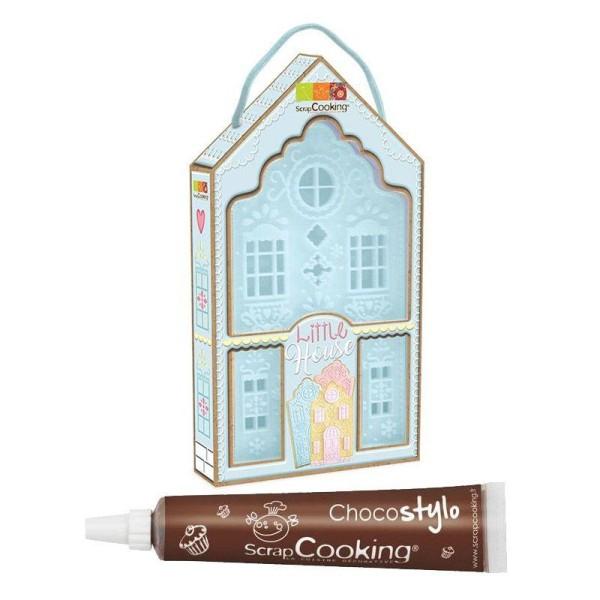 Découpoir à pâtisserie Little house + 1 Stylo chocolat offert - Photo n°1