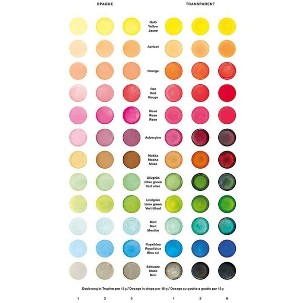 Colorant pour savon vert olive - 10 ml - Photo n°2