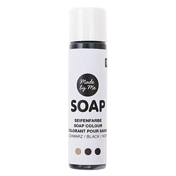 Colorant pour savon - noir - 10 ml - Photo n°1